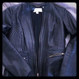 2734fb4edd Women Hugo Boss Leather Jacket on Poshmark